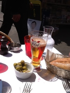 Lunch in Paris, France